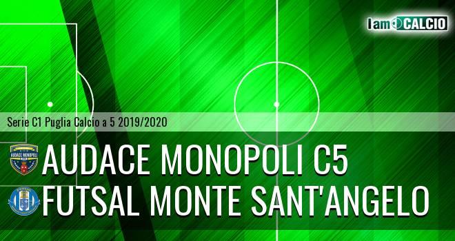 Audace Monopoli C5 - Futsal Monte Sant'Angelo