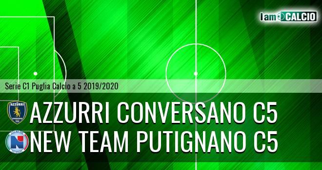 Azzurri Conversano C5 - New Team Putignano C5