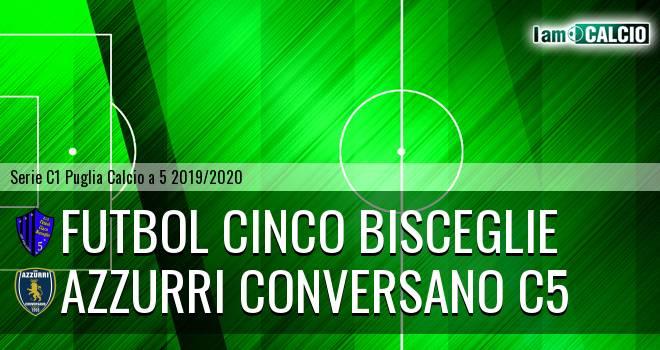 Futbol Cinco Bisceglie - Azzurri Conversano C5