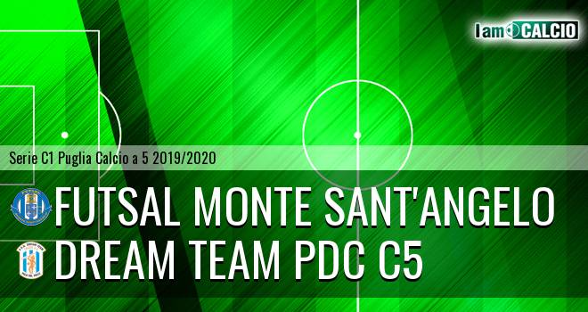 Futsal Monte Sant'Angelo - Dream Team PdC C5