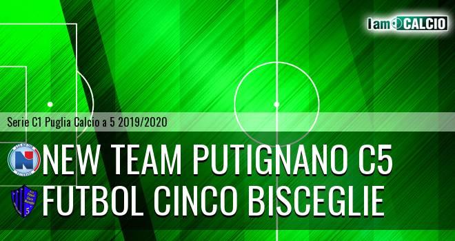 New Team Putignano C5 - Futbol Cinco Bisceglie
