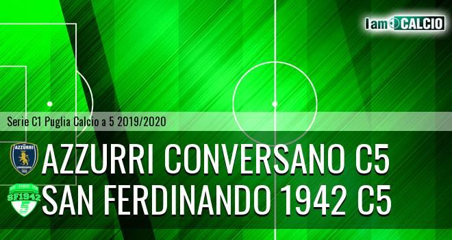 Azzurri Conversano C5 - San Ferdinando 1942 C5
