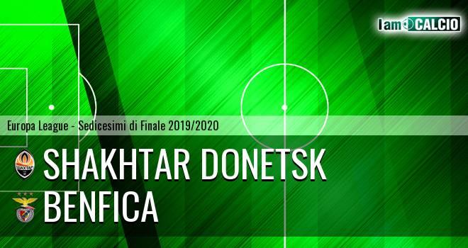 Shakhtar Donetsk - Benfica