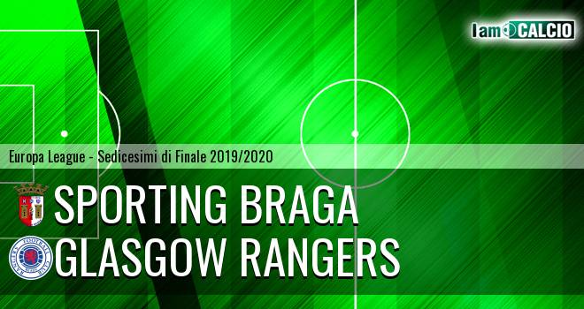 Sporting Braga - Glasgow Rangers