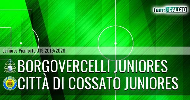 Borgovercelli juniores - Città di Cossato juniores