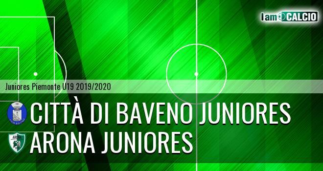 Città di Baveno juniores - Arona juniores