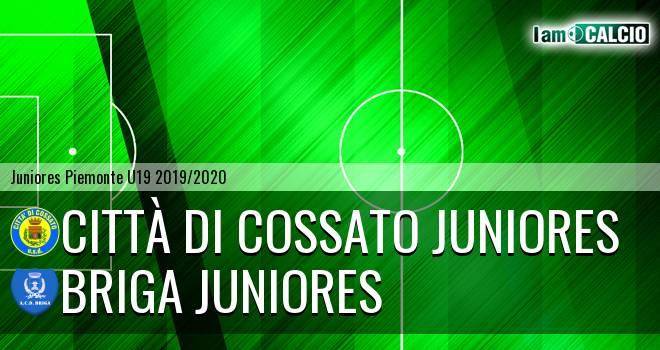 Città di Cossato juniores - Briga juniores