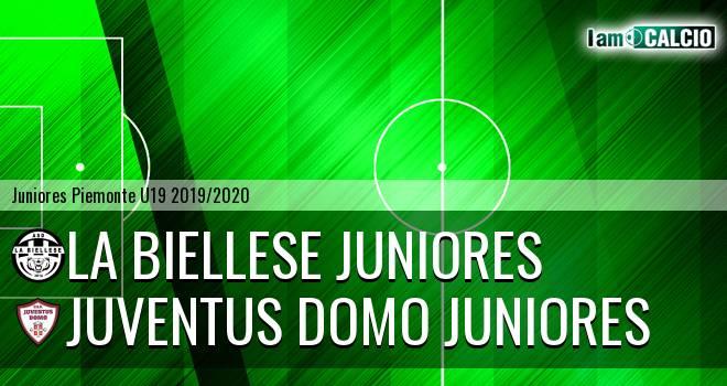 La Biellese juniores - Juventus Domo juniores
