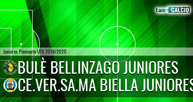Bulè Bellinzago juniores - Ce.Ver.Sa.Ma Biella juniores