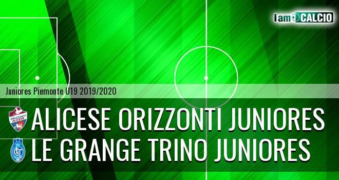 Alicese Orizzonti juniores - Le Grange Trino juniores