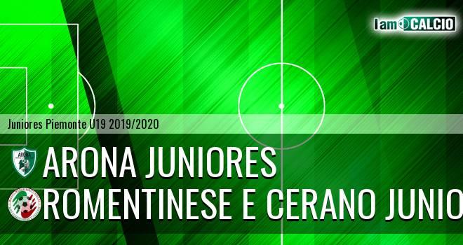 Arona juniores - Romentinese e Cerano juniores