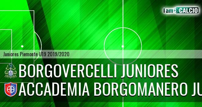 Borgovercelli juniores - Accademia Borgomanero juniores