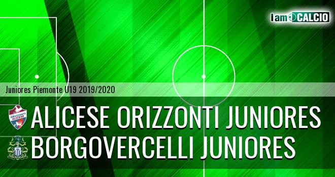 Alicese Orizzonti juniores - Borgovercelli juniores