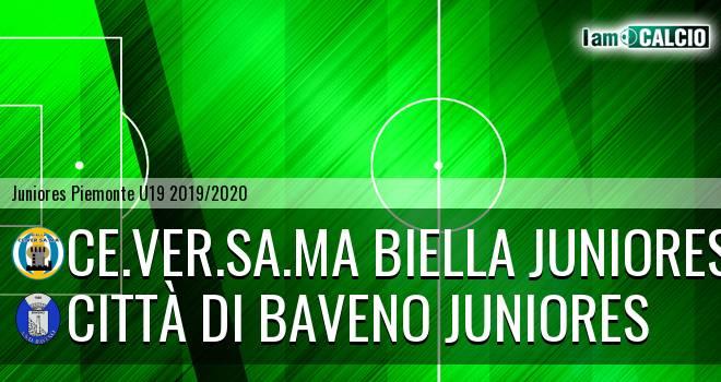 Ce.Ver.Sa.Ma Biella juniores - Città di Baveno juniores