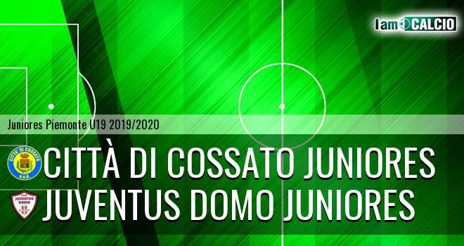 Città di Cossato juniores - Juventus Domo juniores