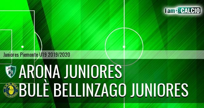 Arona juniores - Bulè Bellinzago juniores