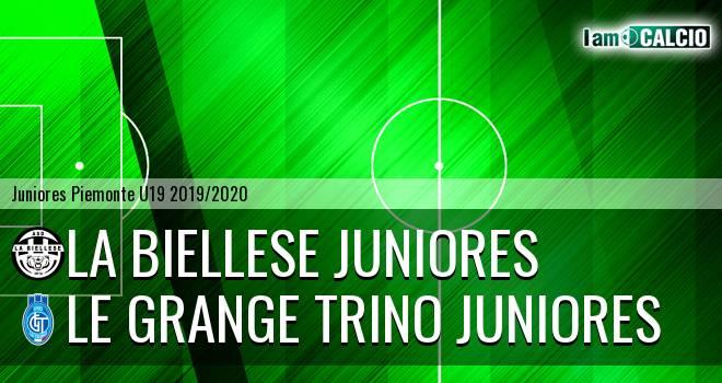 La Biellese juniores - Le Grange Trino juniores