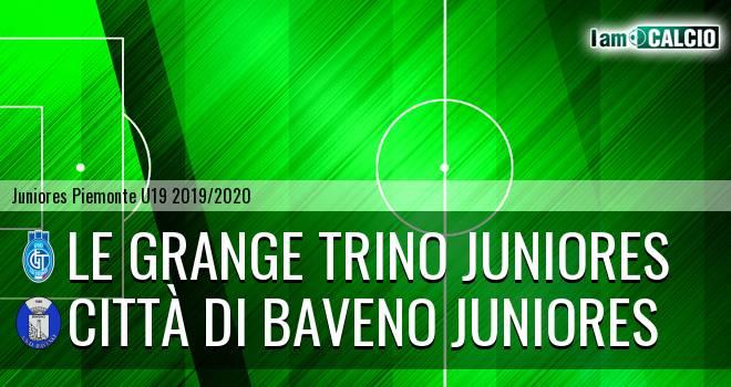 Le Grange Trino juniores - Città di Baveno juniores
