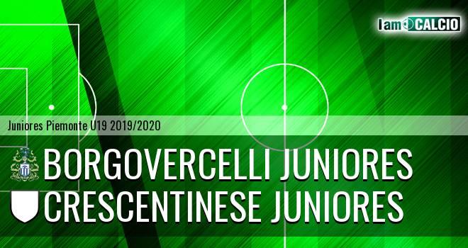 Borgovercelli juniores - Crescentinese juniores
