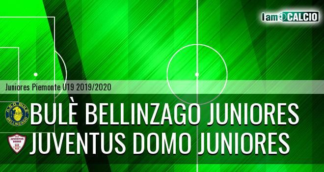 Bulè Bellinzago juniores - Juventus Domo juniores