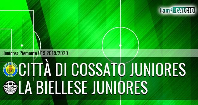 Città di Cossato juniores - La Biellese juniores