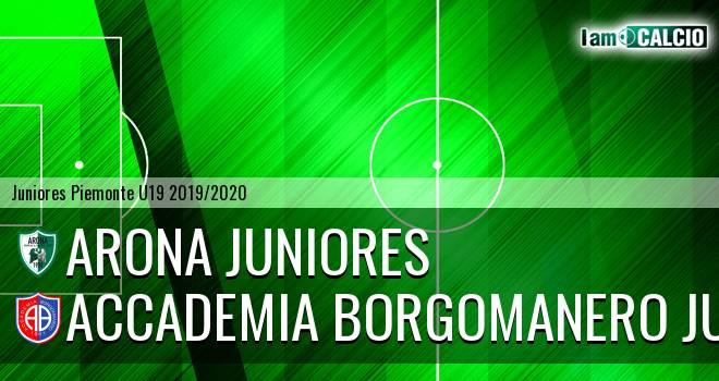 Arona juniores - Accademia Borgomanero juniores