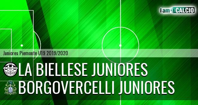 La Biellese juniores - Borgovercelli juniores