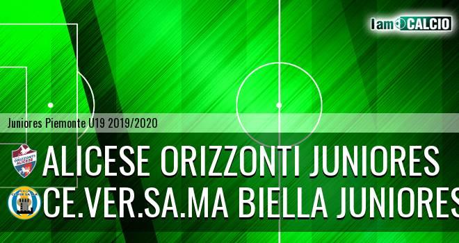 Alicese Orizzonti juniores - Ce.Ver.Sa.Ma Biella juniores