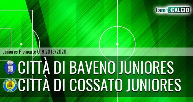 Città di Baveno juniores - Città di Cossato juniores