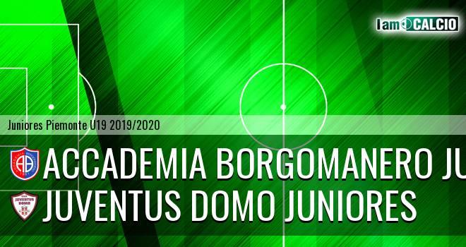Accademia Borgomanero juniores - Juventus Domo juniores