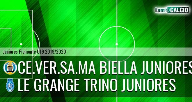 Ce.Ver.Sa.Ma Biella juniores - Le Grange Trino juniores