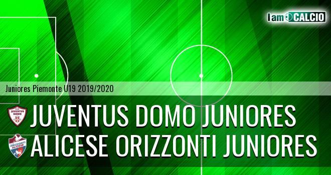 Juventus Domo juniores - Alicese Orizzonti juniores