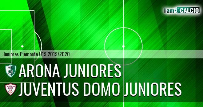Arona juniores - Juventus Domo juniores
