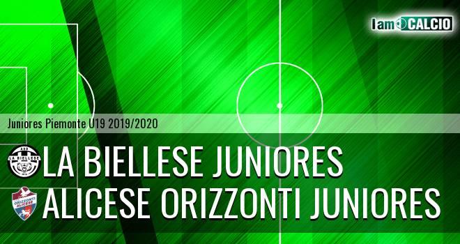 La Biellese juniores - Alicese Orizzonti juniores