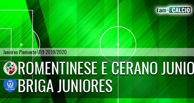 Romentinese e Cerano juniores - Briga juniores