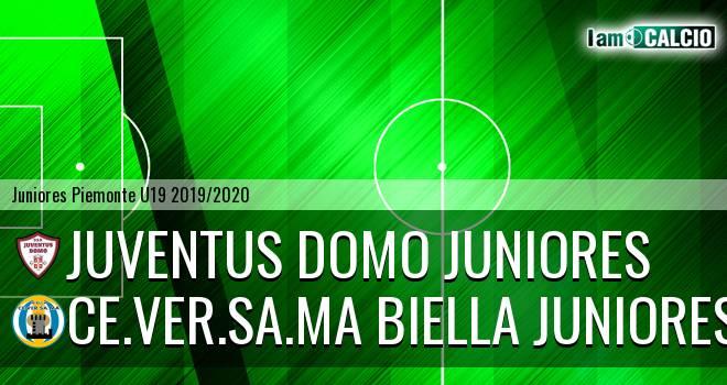 Juventus Domo juniores - Ce.Ver.Sa.Ma Biella juniores