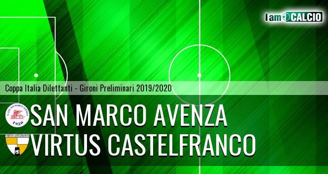San Marco Avenza - Virtus Castelfranco