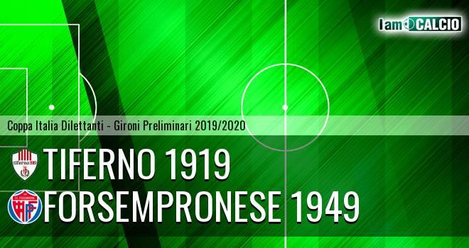 Tiferno 1919 - Forsempronese 1949