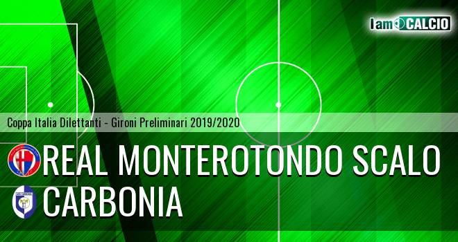 Real Monterotondo Scalo - Carbonia