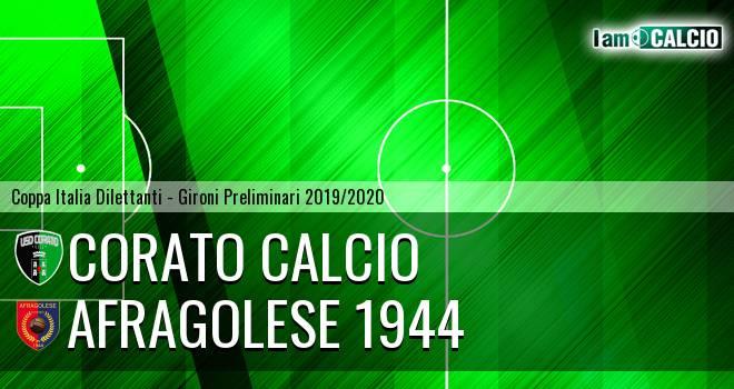 Corato Calcio - Afragolese 1944