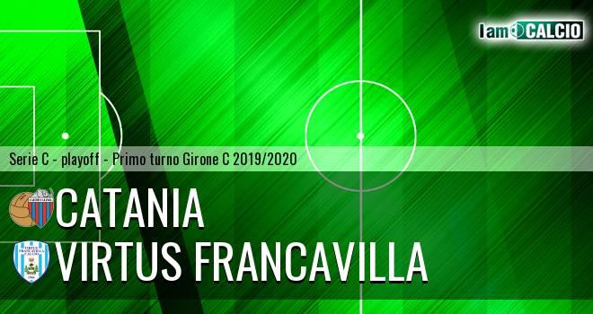 Catania - Virtus Francavilla 3-2. Cronaca Diretta 30/06/2020