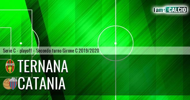 Ternana - Catania 1-1. Cronaca Diretta 05/07/2020