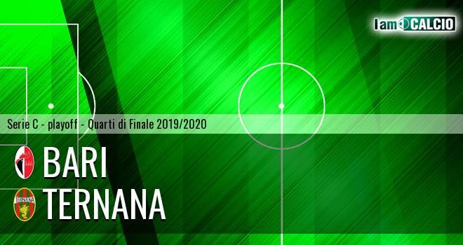 Bari - Ternana 1-1. Cronaca Diretta 13/07/2020