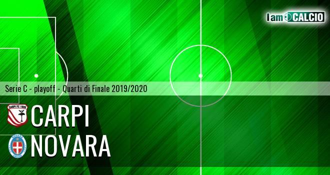 Carpi - Novara 1-2. Cronaca Diretta 13/07/2020