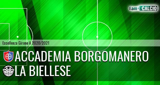 Accademia Borgomanero - La Biellese