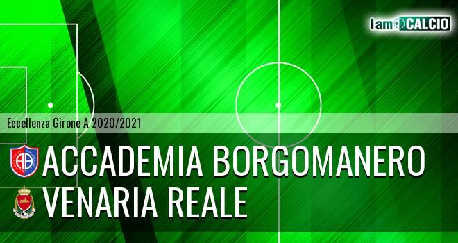 Accademia Borgomanero - Venaria Reale