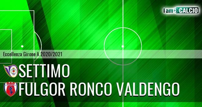 Settimo - Fulgor Ronco Valdengo