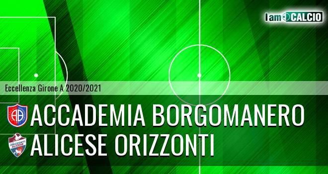 Accademia Borgomanero - Alicese Orizzonti