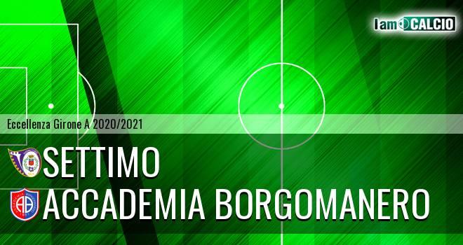 Settimo - Accademia Borgomanero