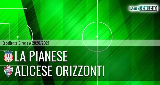 La Pianese - Alicese Orizzonti